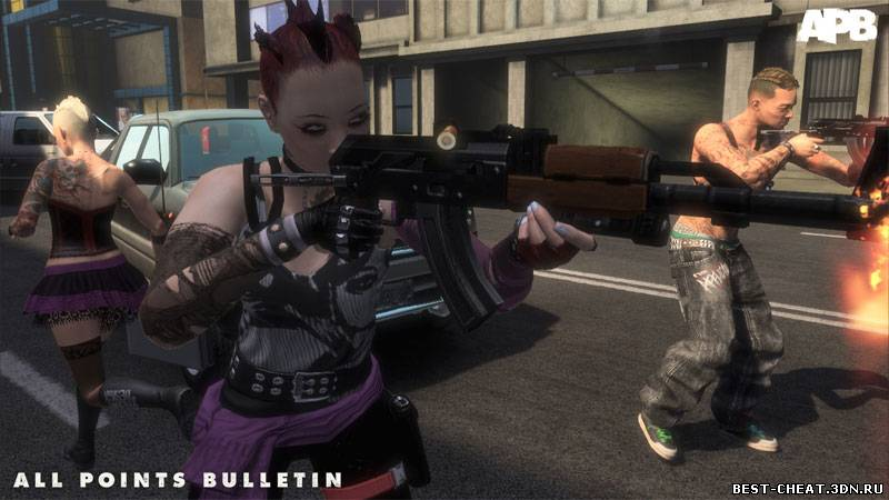 Чит для APB Reloaded uNrEaL BoT